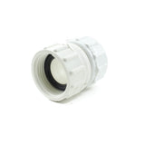 "PVC Garden Hose Adapter, 3/4"" FHT x 3/4"" FPT - Savko Plastic Pipe & Fittings - 2"