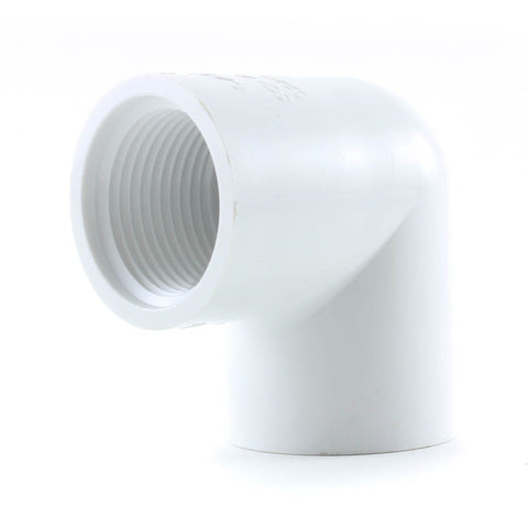 PVC Schedule 40, 90 Degree Elbow FPT x FPT - Savko Plastic Pipe & Fittings