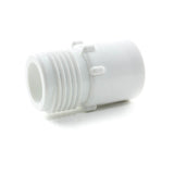 "PVC Garden Hose Adapter, 3/4"" MHT x 1/2"" FPT - Savko Plastic Pipe & Fittings - 1"