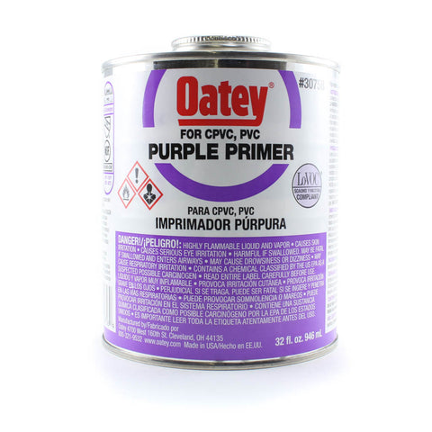 PVC Cement, Primer Purple - Savko Plastic Pipe & Fittings
