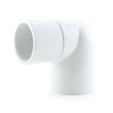 PVC Schedule 40, 90 Degree Street Elbow, Slip x Spigot - Savko Plastic Pipe & Fittings