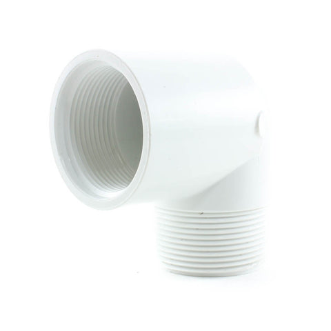 PVC Schedule 40, 90 Degree Street Elbow, FPT x MPT - Savko Plastic Pipe & Fittings