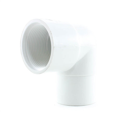 PVC Schedule 40, 90 Degree Street Elbow, FPT x Spigot - Savko Plastic Pipe & Fittings