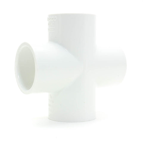 PVC Schedule 40, Slip, Cross - Savko Plastic Pipe & Fittings