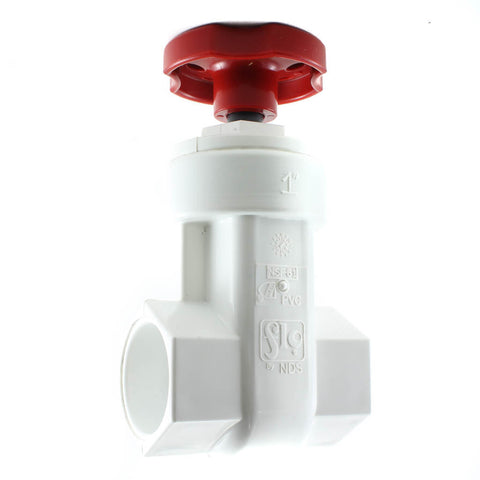 PVC Gate Valve, Slip - Savko Plastic Pipe & Fittings - 1