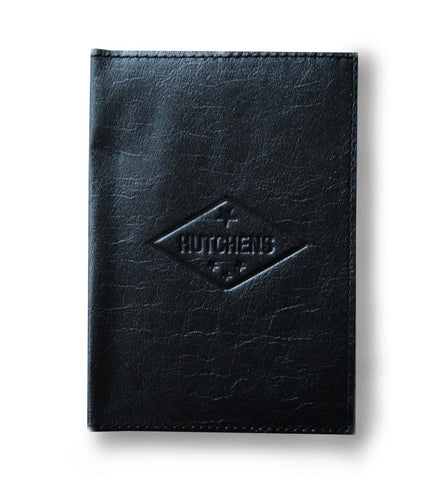 Leather Passport Book - Black