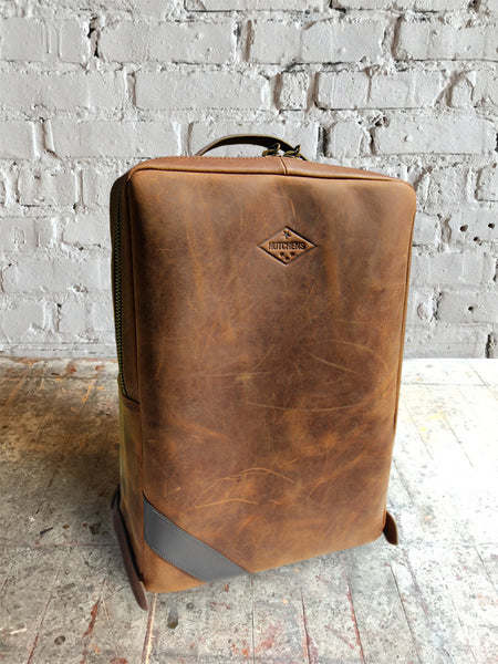 Hutchens Leather Backpack