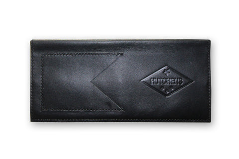 Leather Bill Folder - Black
