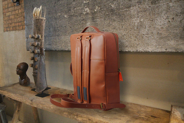 Hutchens Leather Backpacks