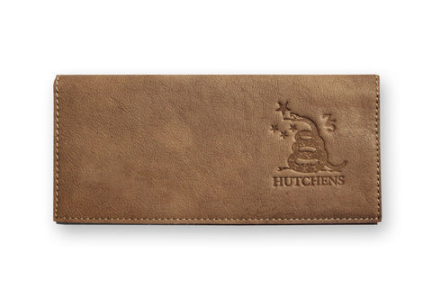 Leather Bill Folder - Moca