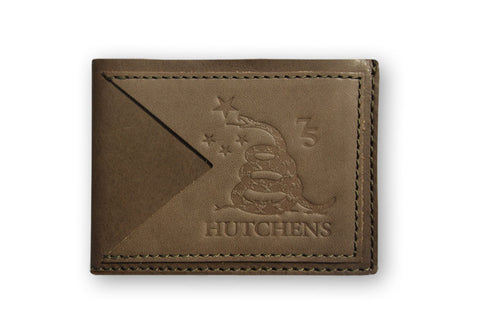 Leather Card Wallet - Moca