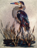 Fishing the Marsh - STS Metal Art Designs