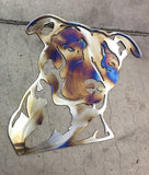 Metal Wall Art - Loyal Friend - Metal Dog Art