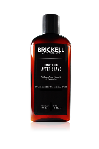 Brickell Instant Relief Aftershave 4oz