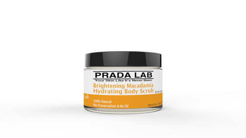 Prada Lab Brightening Macadamia Hydrating Body Scrub 5oz