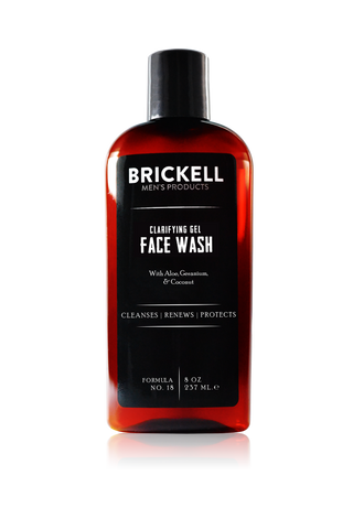 Brickell Clarifying Gel Face Wash (Pre Order Only)