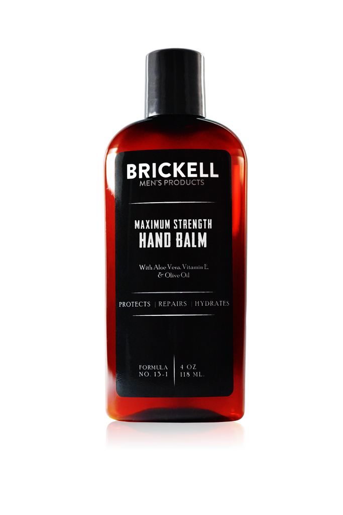 Brickell Maximum Strength Men's Hand Cream