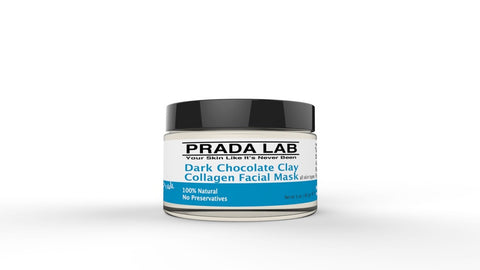 Prada Lab Dark Chocolate Clay Collagen Facial Mask 3oz