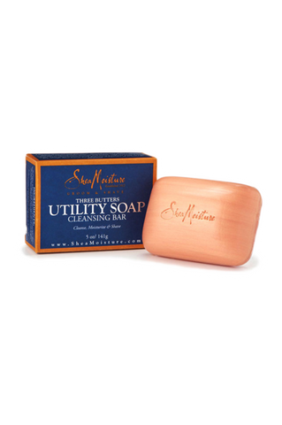 SheaMoisture for Men Three Butters Utility Soap 5oz