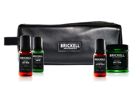 Brickell's Essential Travel Dopp Kit
