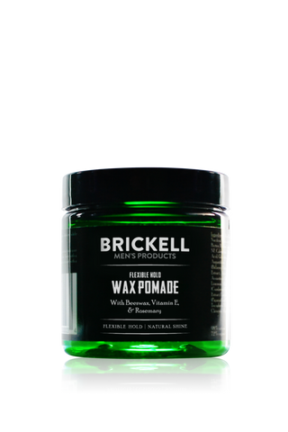 Brickell Flexible Wax Pomade for Men