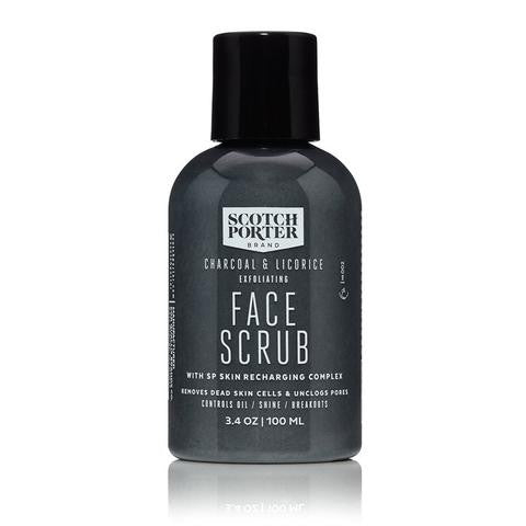 Scotch Porter Charcoal & Liquorice Exfoliating Face Scrub