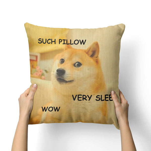 DOGE CANVAS PILLOW