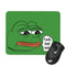 FEELS BAD MAN PEPE MOUSE PAD
