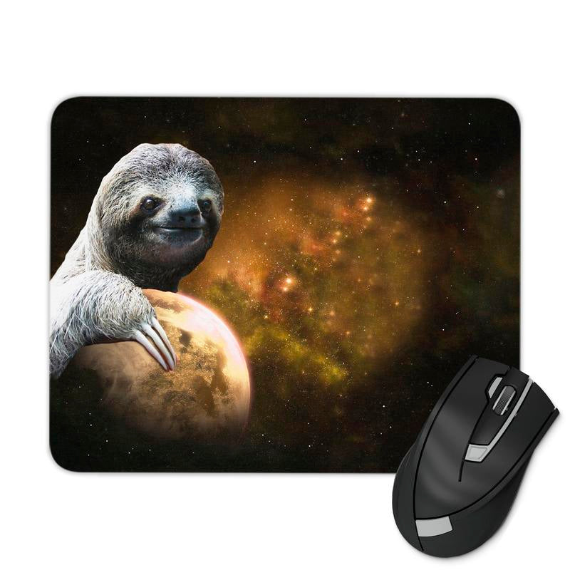 PLANET SLOTH MOUSE PAD