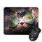 SPACE CAT GLASSES MOUSE PAD