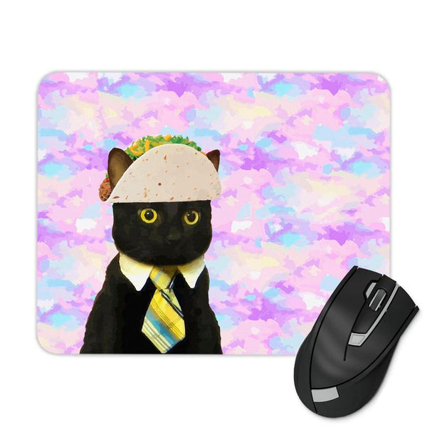 BUSINESS TACO CAT MOUSE PAD