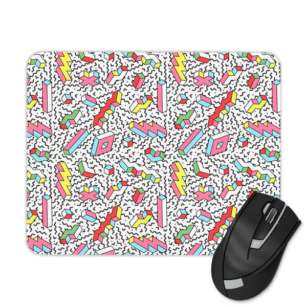 LIGHTNING RETRO PATTERN MOUSE PAD