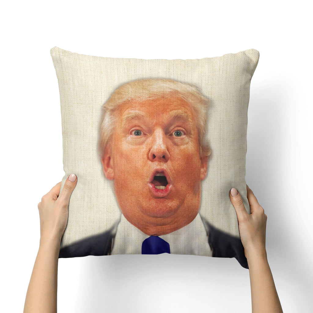 TRUMP O FACE CANVAS PILLOW