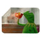 KERMIT BUT THATS NONE OF MY BUSINESS MEME SHERPA BLANKET