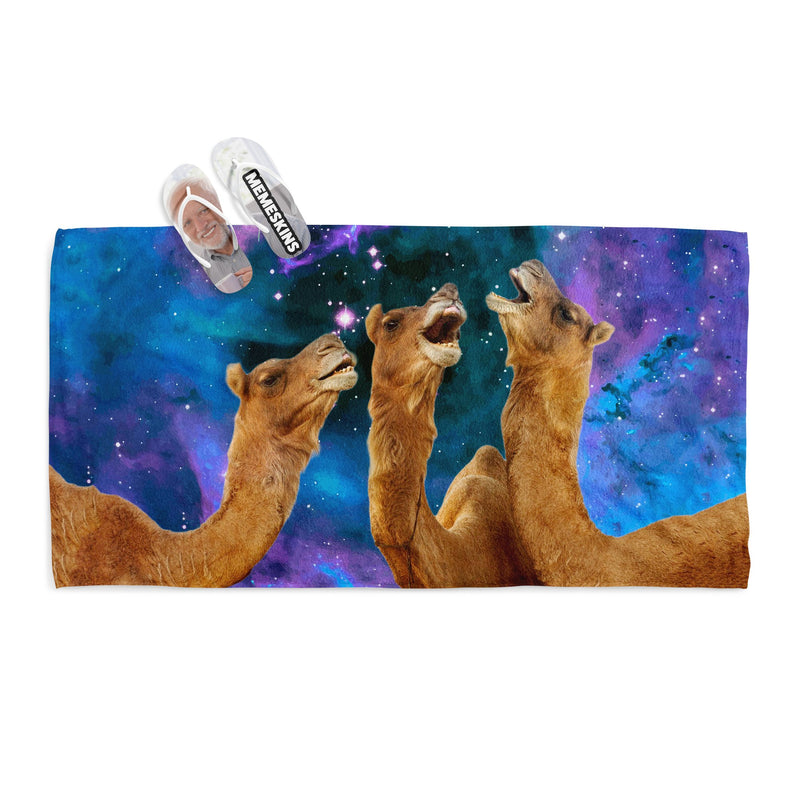 LAUGHING CAMEL TOWEL