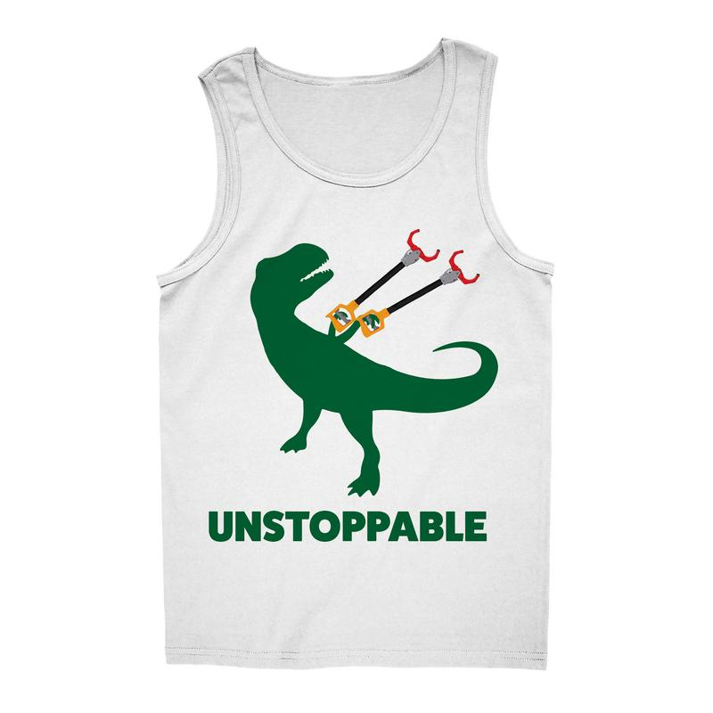 UNSTOPPABLE DINOSAUR TREX TANK TOP
