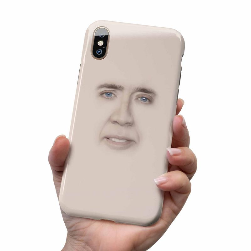 NICOLAS CAGE PHONE CASE