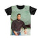 DWAYNE TURTLE NECK FULL PRINT TSHIRT