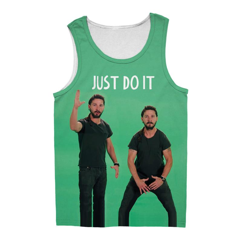 JUST DO IT SHIA LABEOUF TANK TOP