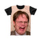 DWIGHT SCHRUTE LAUGHING FULL PRINT TSHIRT
