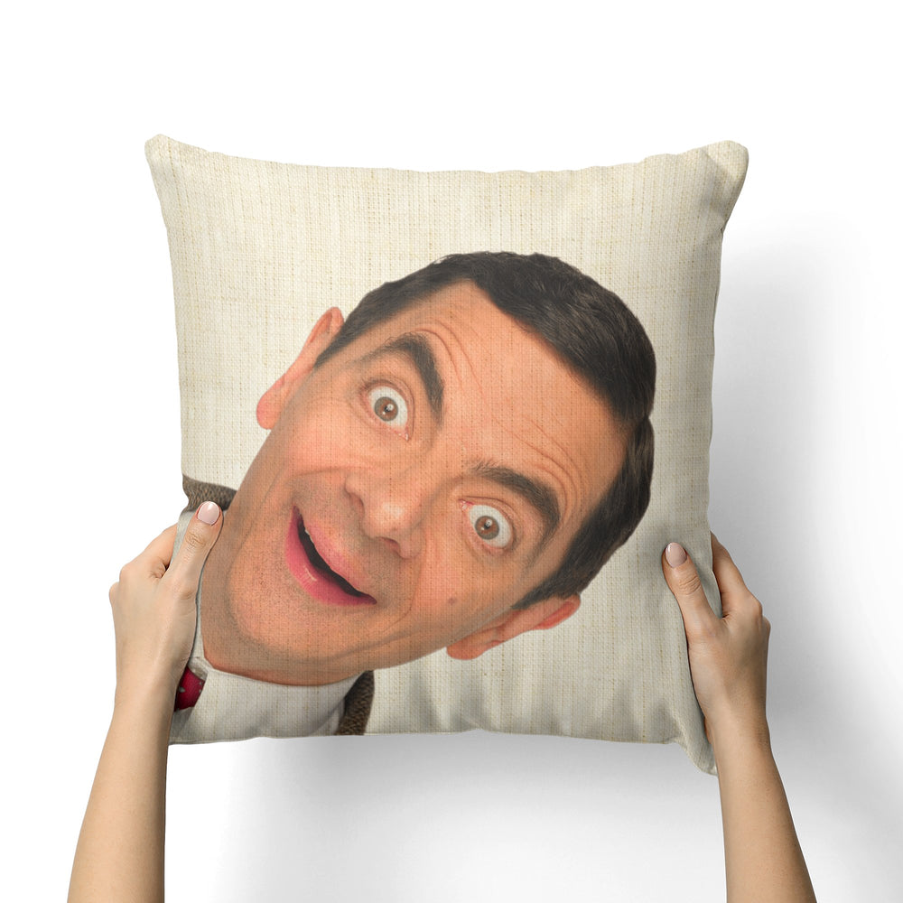MR BEAN CANVAS PILLOW