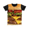 BURGER FULL PRINT TSHIRT