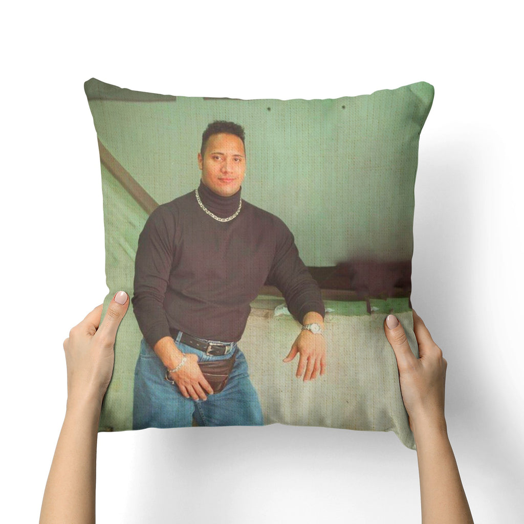 ROCK TURTLE NECK CANVAS PILLOW