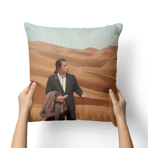 LOST JOHN TRAVOLTA CANVAS PILLOW