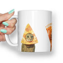 PIZZA CATS MEME MUG