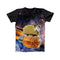 TACO CAT SPACE FULL PRINT TSHIRT