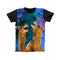 LAUGHING CAMELS IN SPACE FULL PRINT TSHIRT