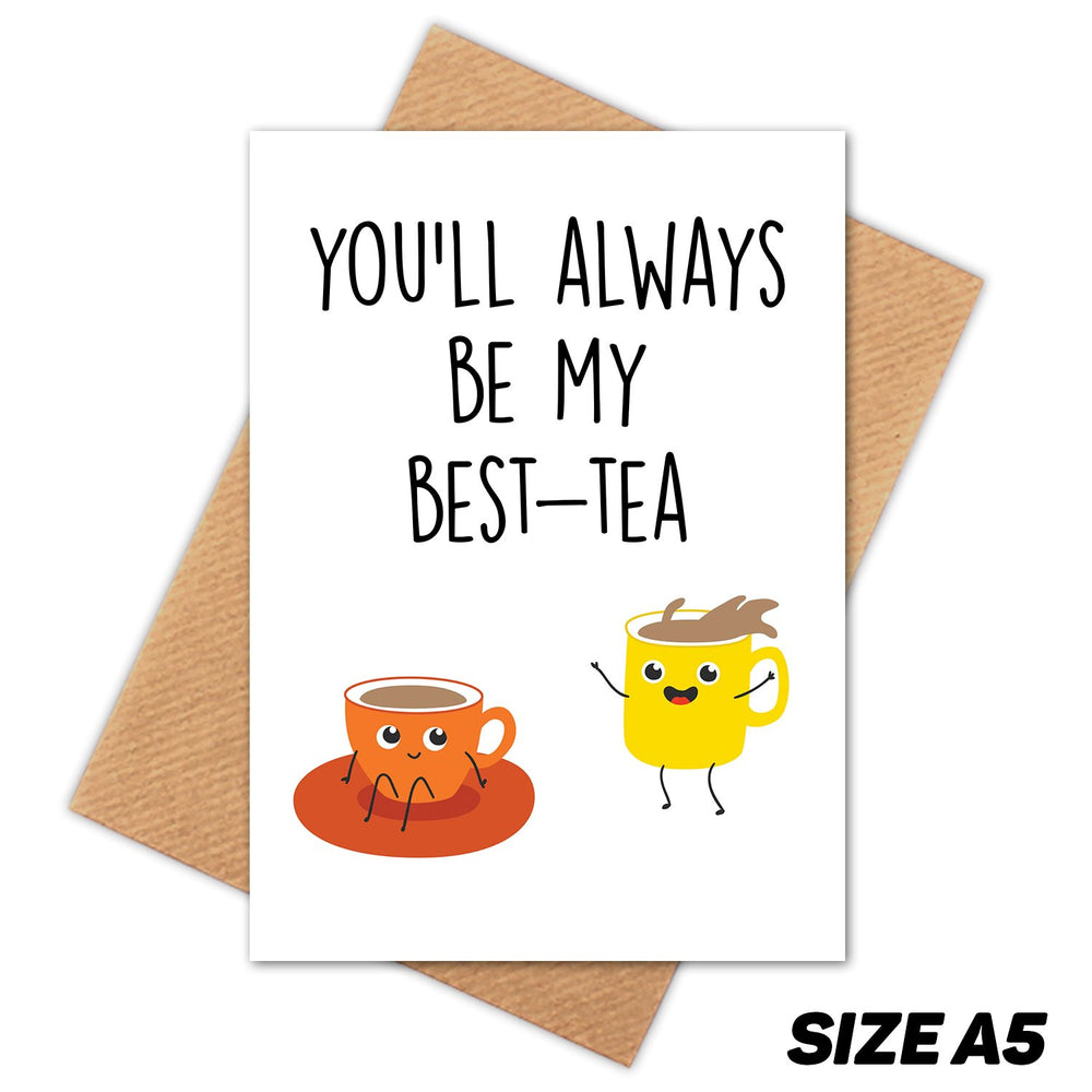 BEST TEA HAPPY BIRTHDAY CARD