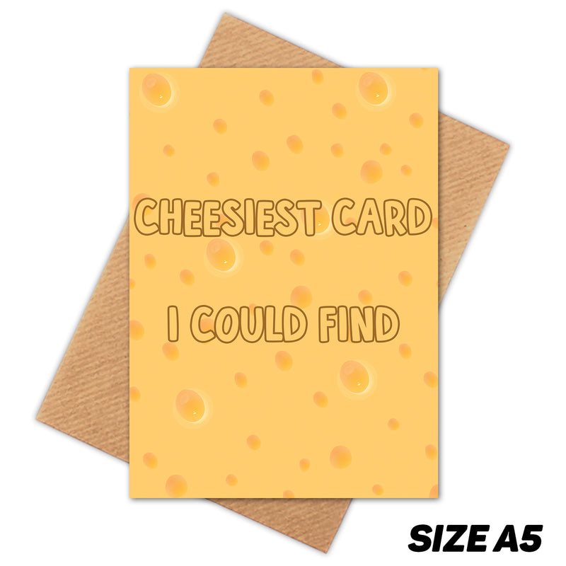 CHEESIEST CARD I COULD FIND PUN HAPPY BIRTHDAY CARD