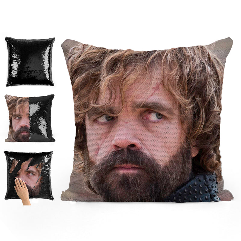 TYRION, PETER DINKLAGE SEQUIN PILLOW